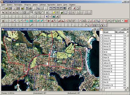 Mapinfo описание