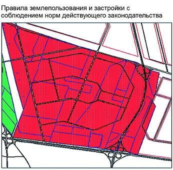 карта план территориальной зоны образец