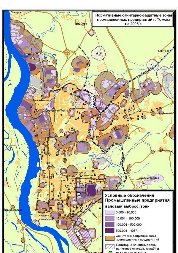 карты и схемы Томска.